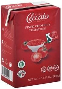 Ceccato Sauce Tomatoes, Fine Chopped