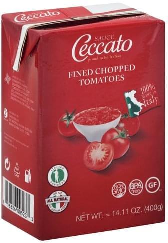 Ceccato Tomatoes, Fine Chopped Sauce - 14.11 oz