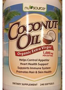 Nu Source Coconut Oil Organic Extra Virgin