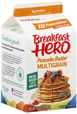 Revolution Foods Multigrain Pancake Batter - 16 oz