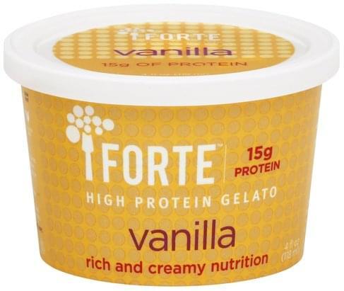 Forte High Protein, Vanilla Gelato - 4 oz