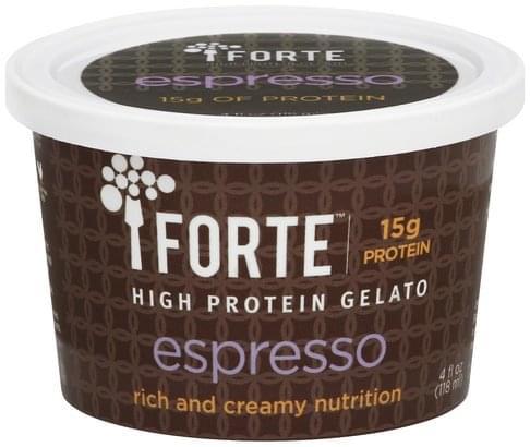Forte High Protein, Espresso Gelato - 4 oz