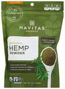 Navitas Hemp Powder Organic