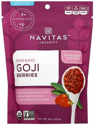 Navitas Organic Goji Berries - 8 oz