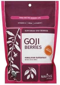 Navitas Goji Berries Sun-Dried