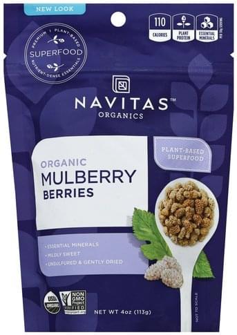 Navitas Organic Mulberry Berries - 4 oz
