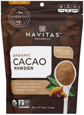 Navitas Organic Cacao Powder - 16 oz