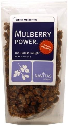 Navitas White Mulberries - 16 oz
