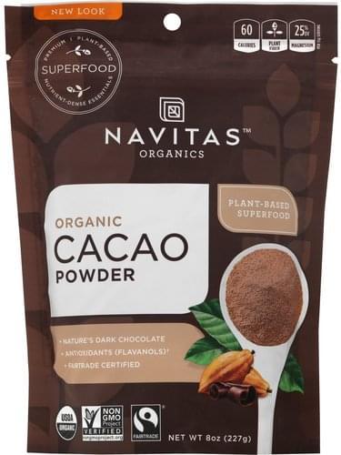 Navitas Organic Cacao Powder - 8 oz