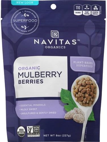 Navitas Organic Mulberry Berries - 8 oz