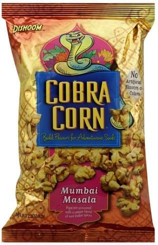 Dishoom Cobra Corn - 2 2 oz, Nutrition Information | Innit