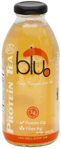 Blu  Orange Pineapple Green Tea - 16 oz