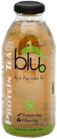 Blu  Apple Pear White Tea Protein Tea - 16 oz