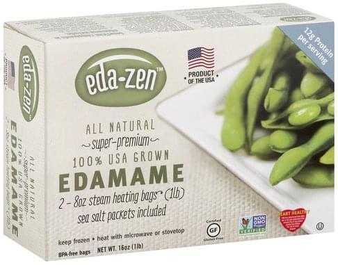 Eda Zen Edamame - 2 ea