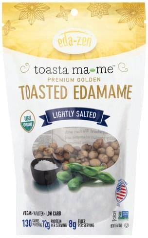 Eda Zen Toasted, Lightly Salted Edamame - 3.5 oz