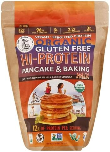Wholesome Chow Hi-Protein Pancake & Baking Mix - 32 oz