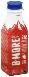 B More Organic Protein Smoothie Skyr, Strawberry