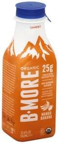 B More Organic Protein Smoothie Skyr, Mango Banana