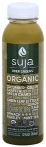 Suja Vegetable & Fruit Juice Drink Organic, Uber Greens