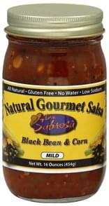 Don Sabrosa Salsa Natural Gourmet, Mild, Black Bean & Corn