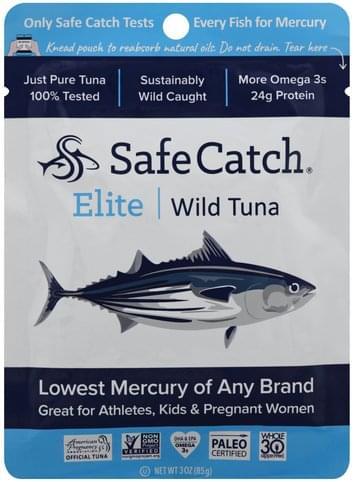 Safe Catch Elite Wild Tuna - 3 oz