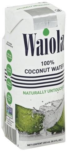 Waiola 100% Coconut Water - 8.5 oz