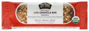 Go Raw Granola Bar Live, 100% Organic