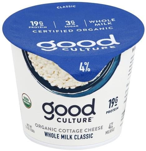 Astonishing Good Culture Organic 4 Milkfat Whole Milk Classic Cottage Interior Design Ideas Clesiryabchikinfo