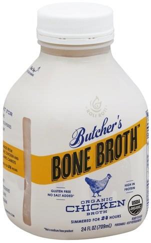 Roli Roti Organic Chicken Broth - 24 oz