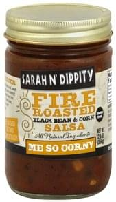 Sarah N Dippity Salsa Fire Roasted, Black Bean & Corn