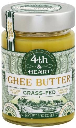 4Th & Heart Original Recipe Ghee Butter - 9 oz