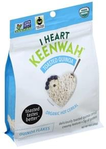 I Heart Keenwah Hot Cereal Organic, Toasted Quinoa