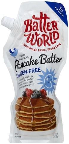 Batter World Gluten-Free Pancake Batter - 16 oz
