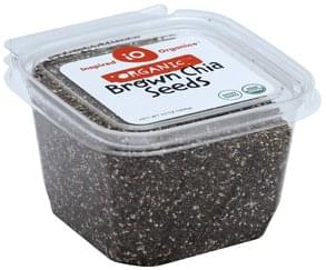 Inspired Organics Chia Seeds Organic, Brown