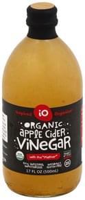 Inspired Organics Vinegar Organic, Apple Cider
