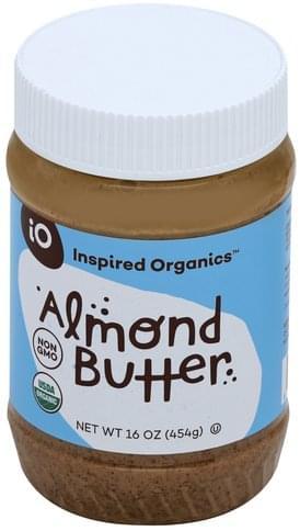 Inspired Organics Almond Butter - 16 oz