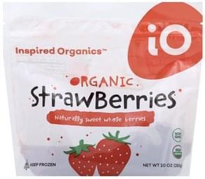 Inspired Organics Strawberries Organic