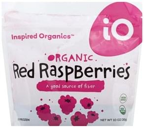 Inspired Organics Red Raspberries Organic