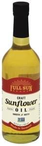 Full Sun Sunflower Oil Craft