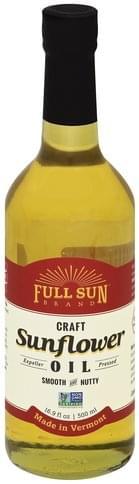 Full Sun Craft Sunflower Oil - 16.9 oz