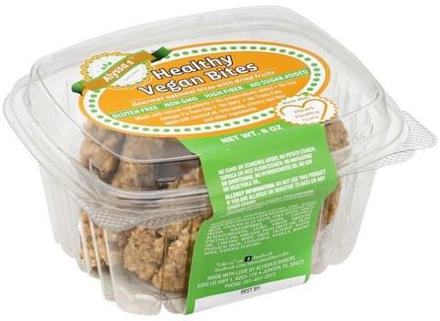 Alyssas Healthy Vegan Bites - 6 oz