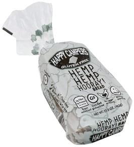 Happy Campers Gluten Free Bread Hemp Hemp Horray!