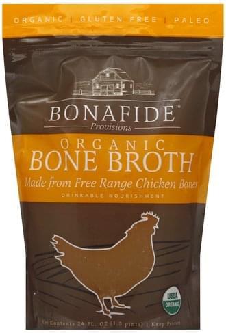 Bonafide Provisions Organic, Chicken Bone Broth - 24 oz