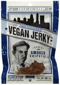 Louisville Vegan Jerky Jerky Vegan, Tod's Smoke Chipotle