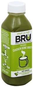 Bru Bone Broth Pastured Chicken, Hot Greens