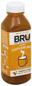 Bru Bone Broth Pastured Chicken, Turmeric Ginger