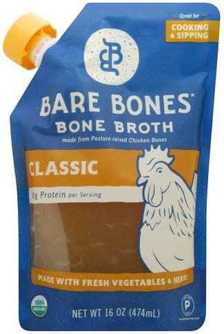 Bare Bones Classic Bone Broth - 16 oz