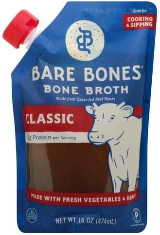 Bare Bones Classic Bone Broth - 16 oz