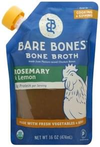 Bare Bones Bone Broth Rosemary & Lemon