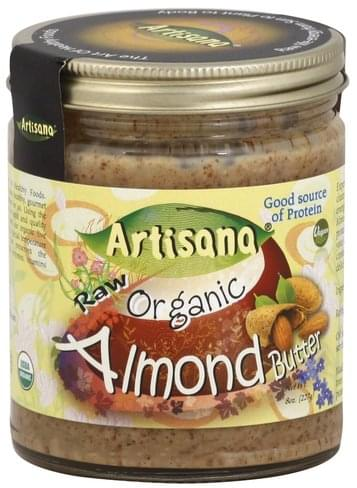 Artisana Raw, Organic Almond Butter - 8 oz